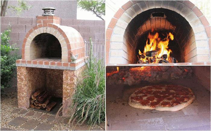 Печка для пиццы
