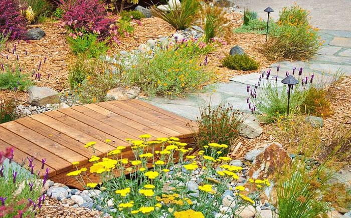 Садовый ландшафт: идеи для строительства мостиков