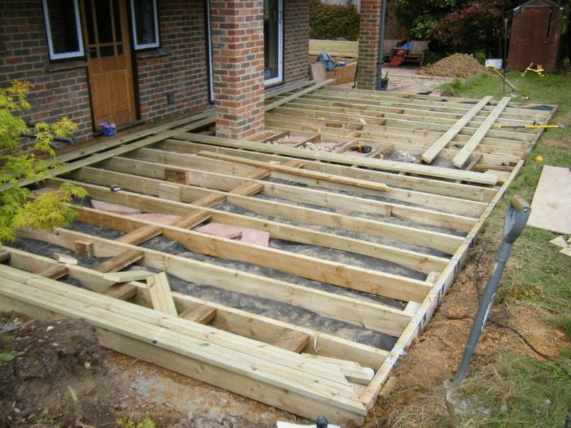 Как создать деревянную террасу возле дома
