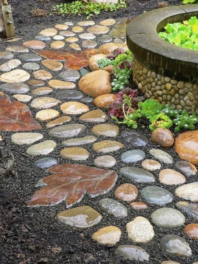 Как сделать дорожку своими руками из камней