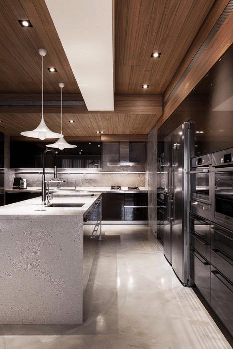 Идея №6. Деревянный потолок в интерьере