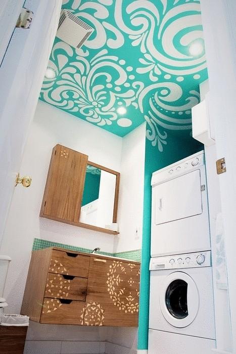 Идея №21. Роспись на потолке