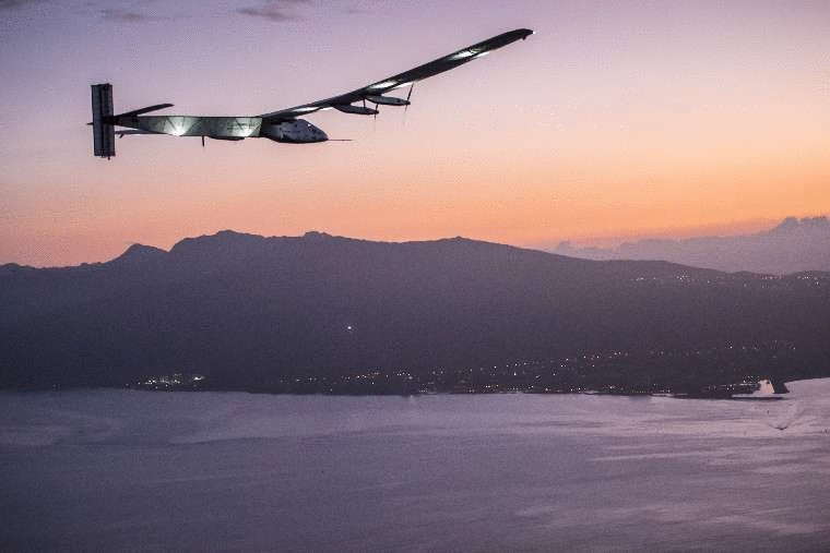 Solar Impulse 2 застрял на Гавайях, перед этим установив три рекорда. Facepla.net последние новости экологии
