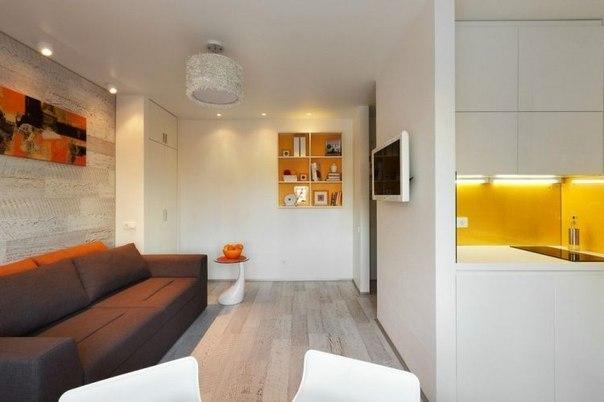 Дизайн квартиры 22 кв.м