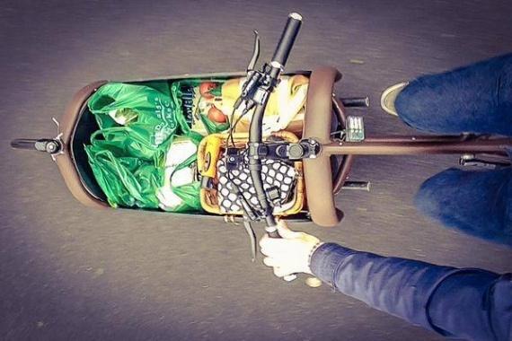 TrioBike - грузовой семейный велосипед 3 в 1