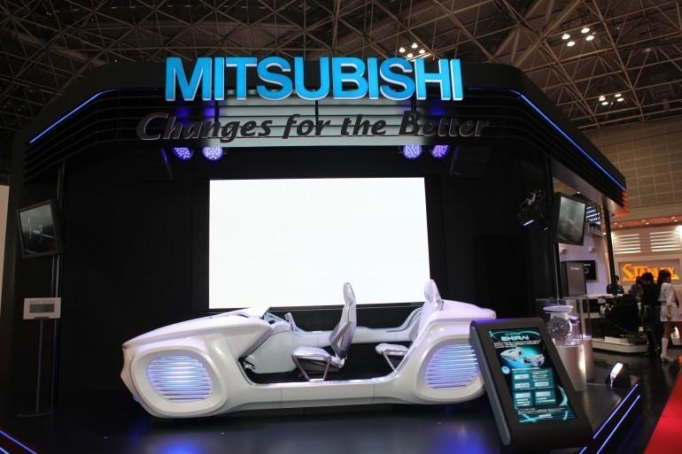 Концепт-кар Mitsubishi Emirai — электромобиль прямиком из будущего