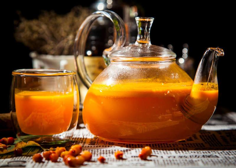 как делать чай из облепихи