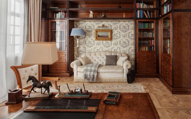 Дизайн интерьера классический прованс