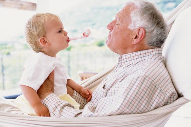 дудушка и внук