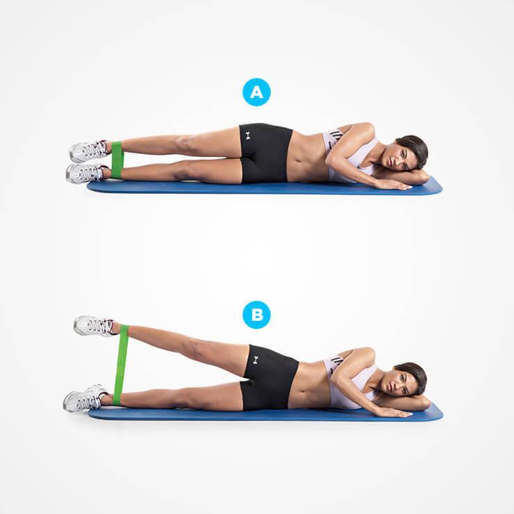 5 упражнений для бедра