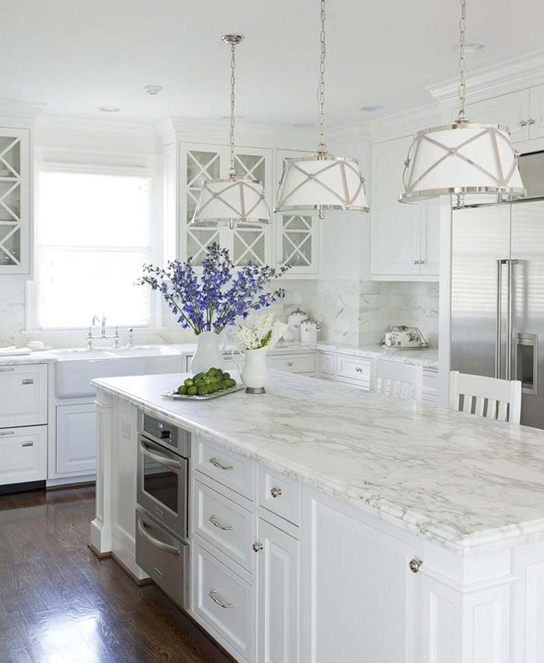 Дизайн кухни фото белого цвета