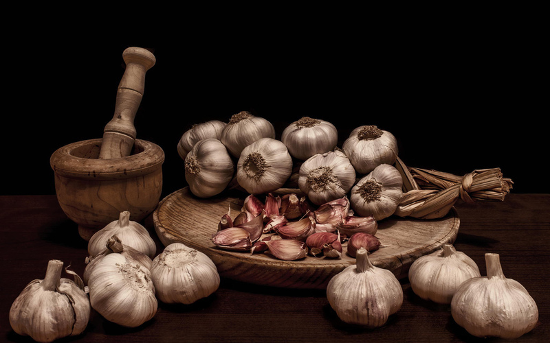 Try garlic for cramps!