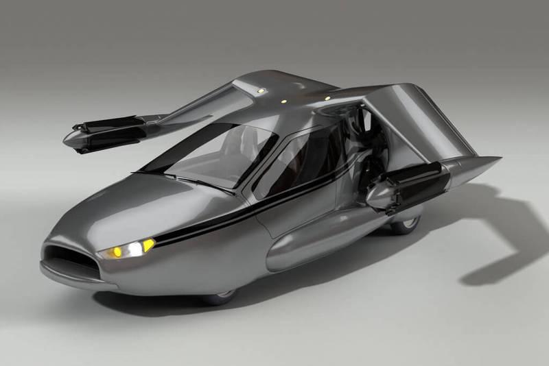 картинки летающие машины будущего некоторыми
