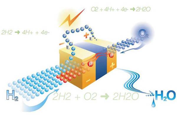 Водородная топливная ячейка