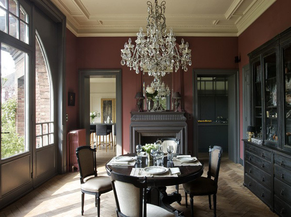 Французский стиль: замечательные обеденные зоны