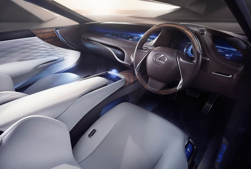 Интерьер концепта Lexus LF-FC