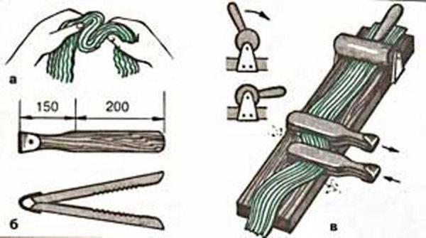 Древесное волокно своими руками