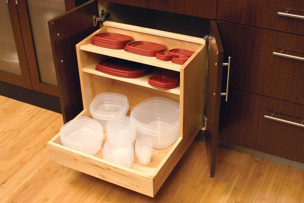 Shalow Kitchen Cabinets