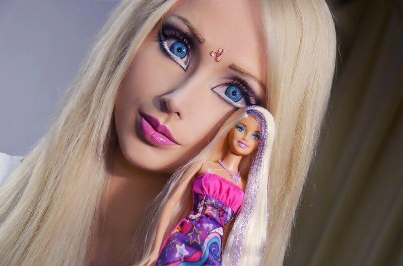 Это реально существующая девушка-барби из Одессы Валерия Лукьянова