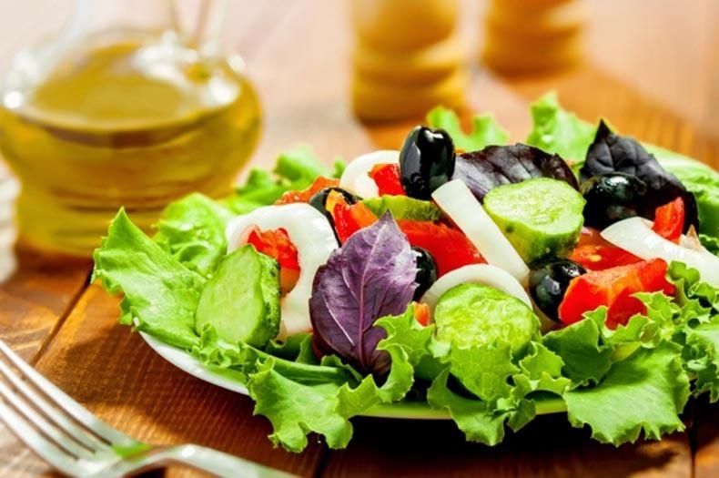вкусные овощные салаты для похудения