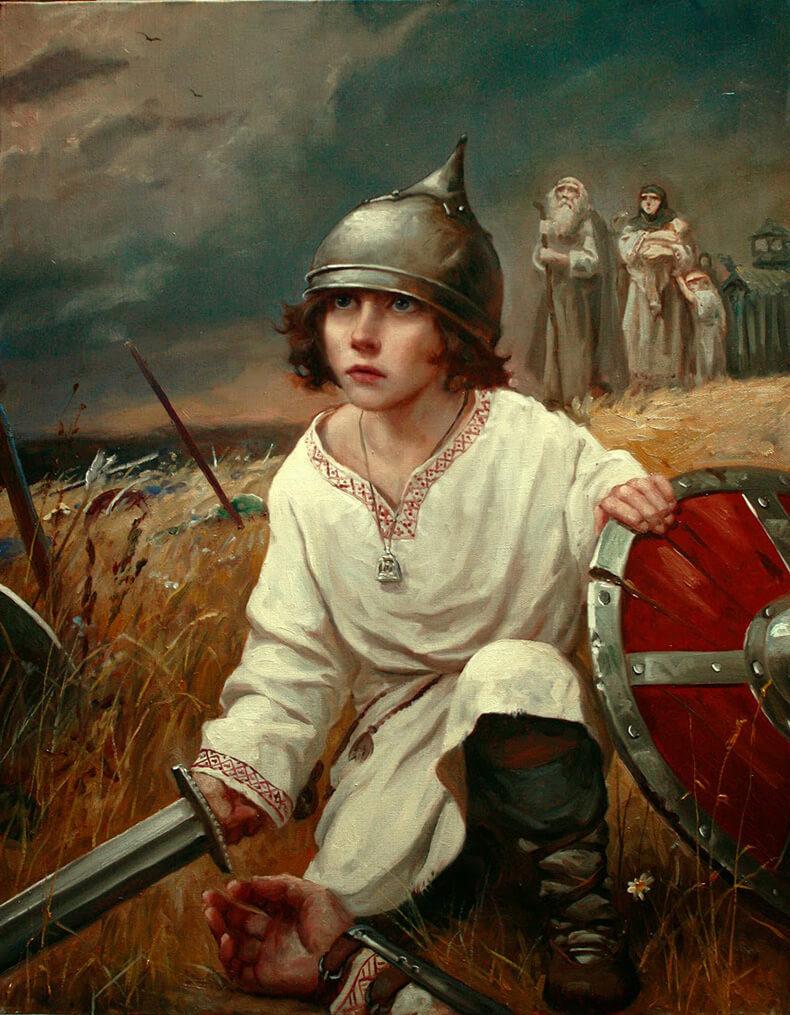 В назидание полоумным мамашкам: КАК на воспитывали воинов на Руси?