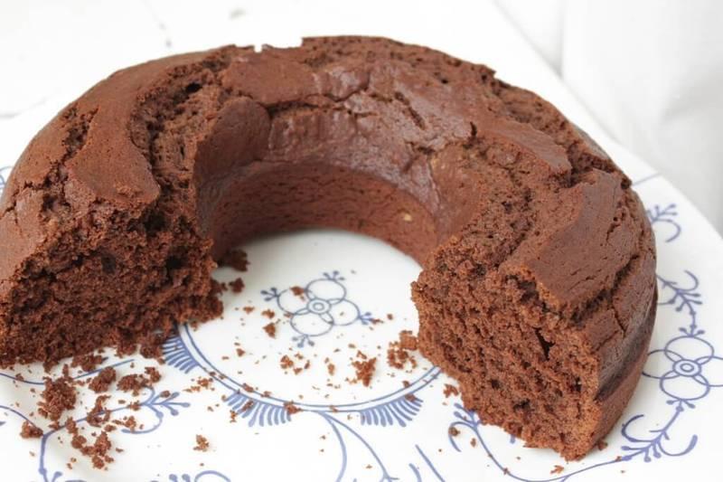 Постная выпечка - шоколадный кекс