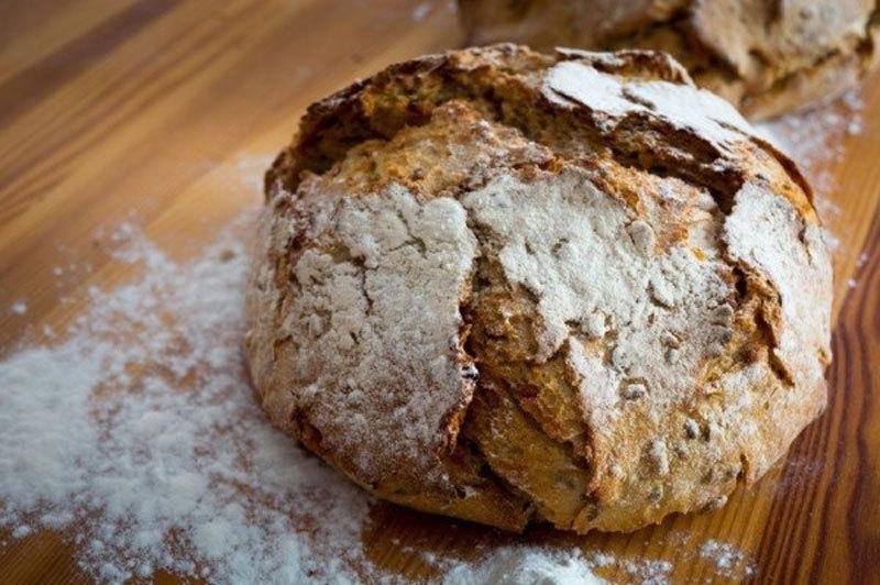Хлеб бездрожжевой рецепты фото пошагово