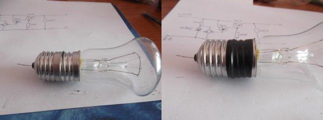 Как сделать лампу накаливания своими руками