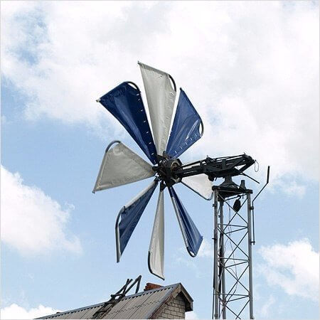 Самые эффективные ветрогенераторы своими руками 10
