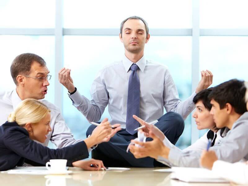 Как мудро справиться с проблемами на работе?