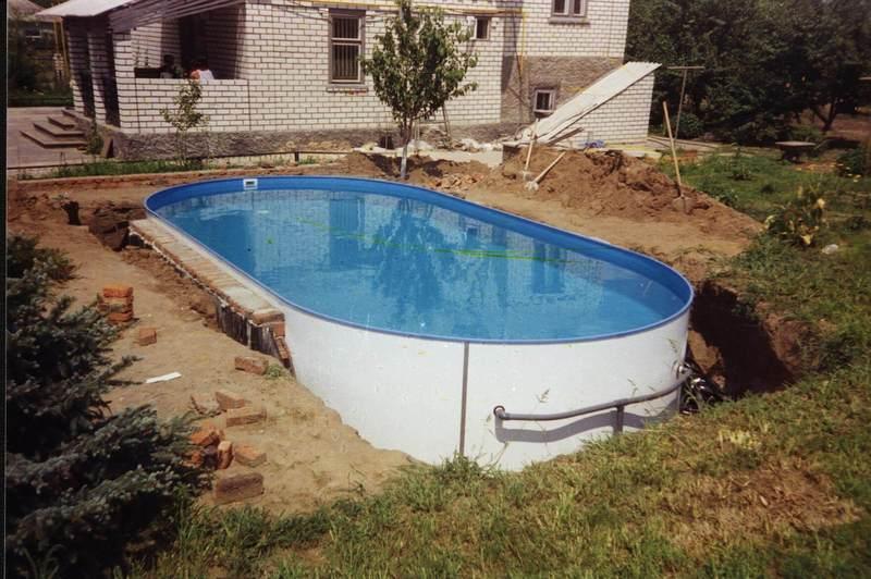 Бассейн для дачи своими руками