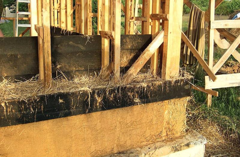 Строительство дома своими руками из самана