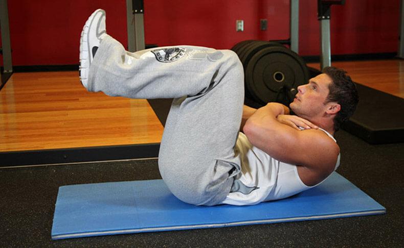4 лучших упражнений для рельефного пресса