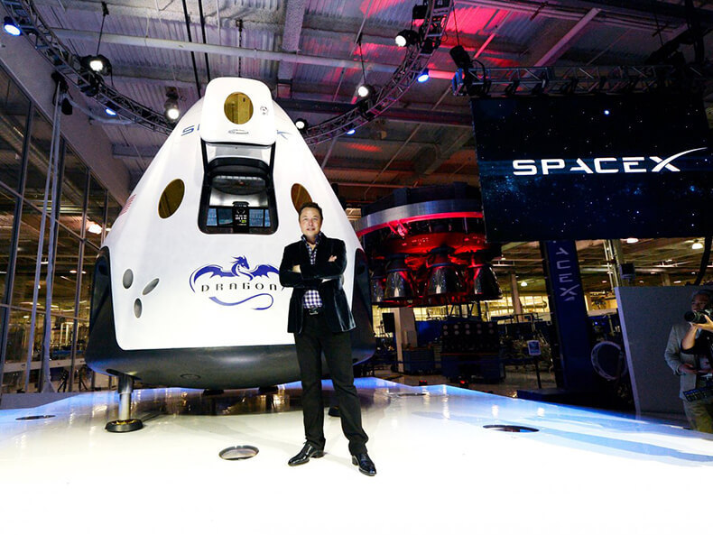 Space tourism industry: Elon Musk