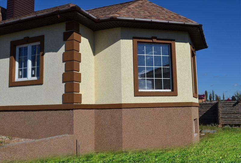 фото отделка фасадов частных домов