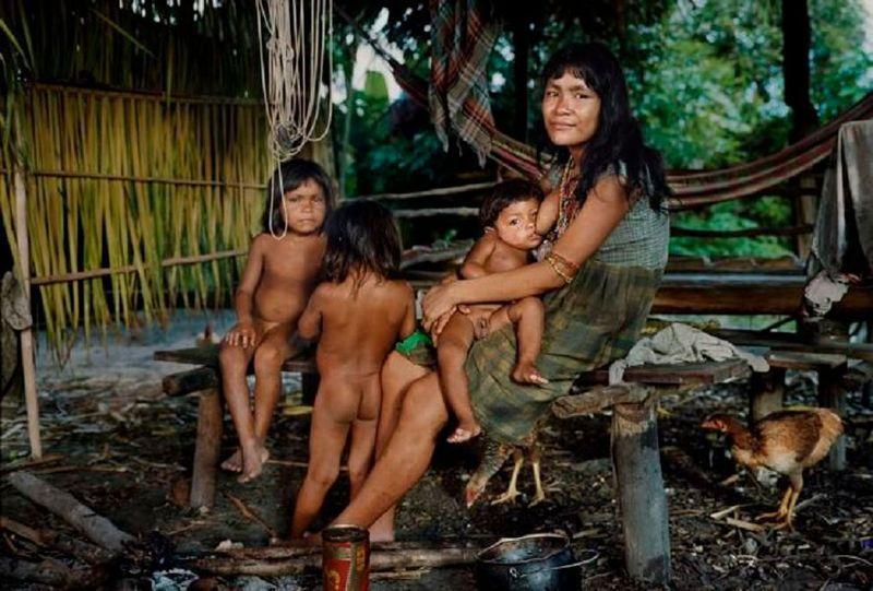 индейские племена голые фото - 2