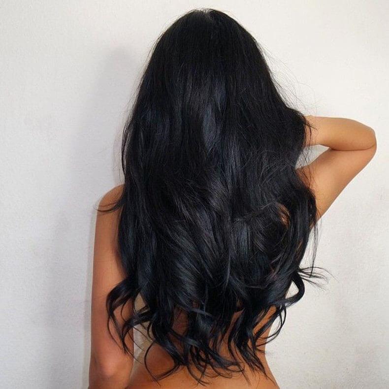 девушки знали, фото длинных волос со спины еще
