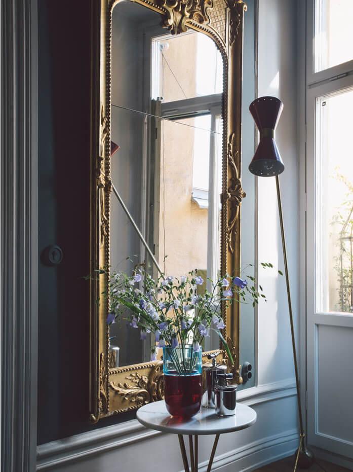 Эклектика - оригинальное сочетание стилей в стокгольмской квартире