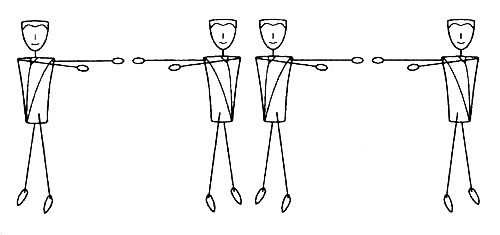 четыре Нейто-движения второй стадии sp гимнастики