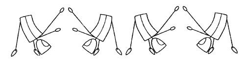 четыре Гомо-движения второй стадии sp гимнастики