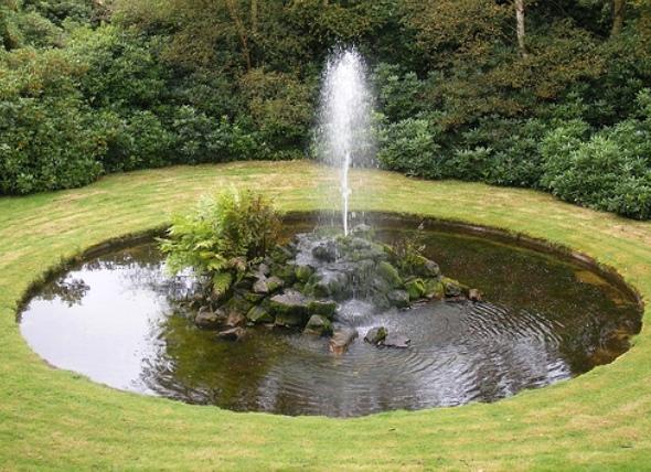 Как сделать водоемы фонтаны своими руками фото 8
