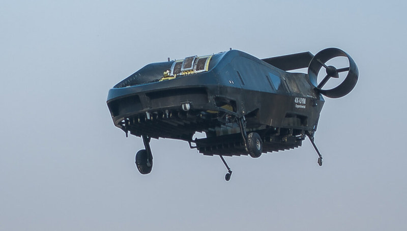 Летающие автомобили и пассажирские дроны, 11 современных проектов