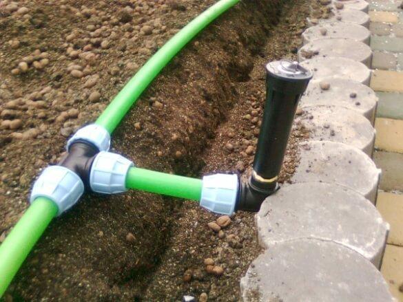 Летний водопровод на даче из полипропиленовых труб своими руками