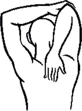 Широчайшая мышца спины и большая круглая мышца: точки напряжения и снятие боли