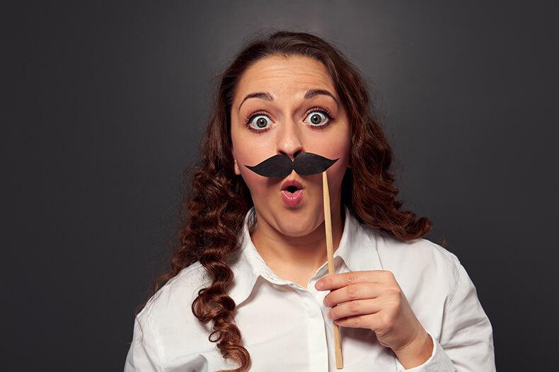 Волосы на лице: способы удаления