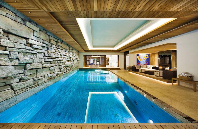 Как обустроить бассейн в подвале дома
