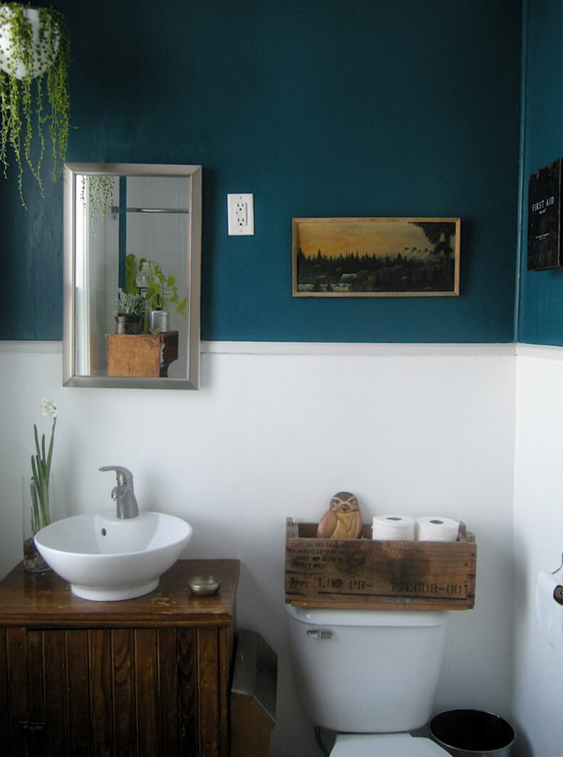 Интерьер ванной комнаты своими руками фото 61
