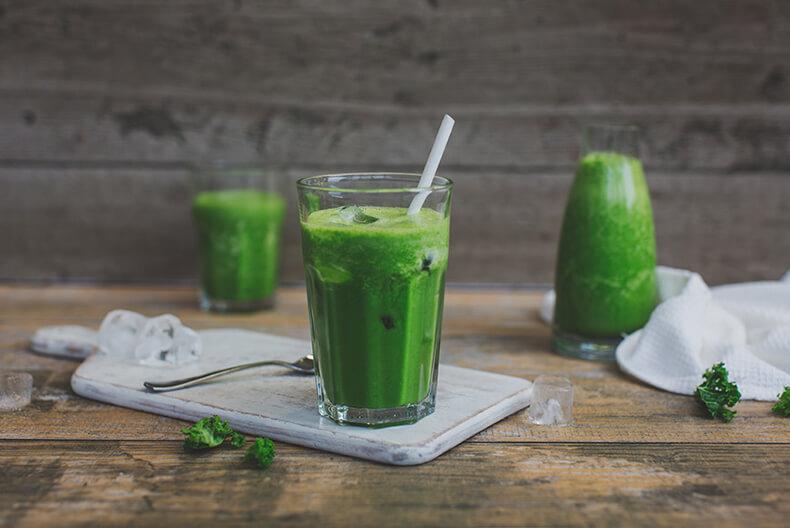 полезный зелёный коктейль рецепты