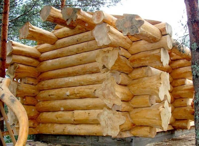 Бани из рубленого бревна: пошаговая инструкция