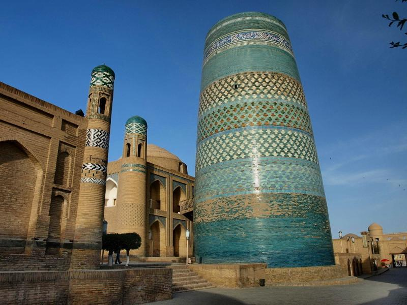 Старый город Ичан-Кала в Хиве, Узбекистан